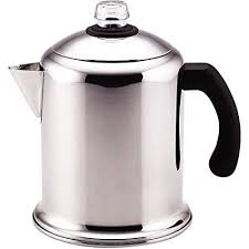 8 Cup Percolator Polished Stainless Steel For Beauty And Durability By Farberware
