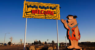 100 Flint Stone For Sale Stones Bedrock City Closes Raptor Ranch To Open