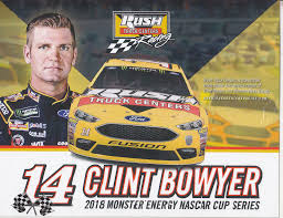 2018 CLINT BOWYER Rush Truck Centers Nascar Monster Energy Cup ...