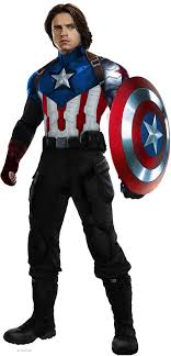Captain America Bucky Barnes With Metal Arm By HB Transparent
