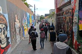 Clarion Alley Mural Project by Teaching About San Francisco Community Murals Beyond The