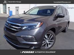 Used Honda Pilot With Captain Chairs by 2017 New Honda Pilot Elite Awd At Honda Mall Of Georgia Serving