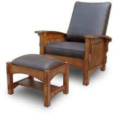 Stickley Morris Chair Free Plans by Bow Arm Morris Chair W Footstool Project Plan Print Plan New