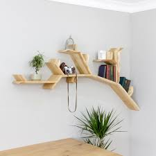 100 Tree Branch Bookshelves The Oak Shelf 18m Size Apt In 2019 Wall