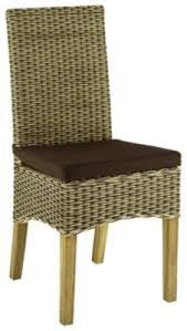 chaise max 2 rotin bicolore chaises but