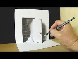 Very Easy How To Draw Hole Stairs For Kids