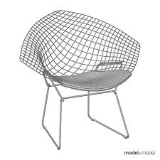Knoll Bertoia Diamond Chair 3D | CGTrader Bertoia Diamond Lounger Knoll Shop Diamond Ta Armchair Nuans Chair Intertional Harry 1952 Design Armchair Gold Plated Couch Potato Company By Cane Line Yliving With Sunbrella Cushion Skandium Eyecatching Harryarm Insp Metal Chair Stylized Outdoor Bronze Base Tonus 4 210 Small With Seat Cushion