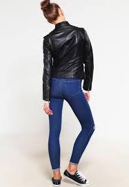 oakwood leather jacket noir women clothing jackets w oa121l043