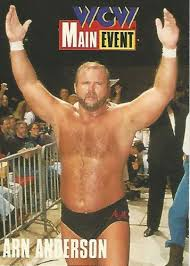 Halloween Havoc 1995 by 1995 Wcw Main Event Trading Cards Cardz Arn Anderson No 19