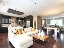 Harmonious Open Kitchen To Dining Room by Vancover Home Contemporary Living Room Vancouver Space