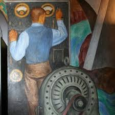 Coit Tower Murals Diego Rivera by Coit Tower Murals San Francisco Ca Living New Deal