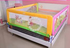 Baby Safety Bed Rail Bed fence Anti fall Bedside Moms & Kids