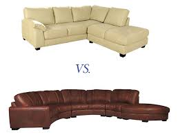 microfiber vs leather which is right for your sofa contempo