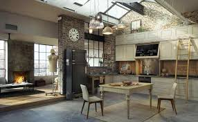 Industrial Warehouse Loft Apartment Kitchen | Home Design ... Former 19th Century Industrial Warehouse Converted Into Modern Best 25 Loft Office Ideas On Pinterest Space 14 Best Portable Images Design Homes And Stunning Homes Ideas Amazing House Decorating Melbourne Architects Upcycle 1960s Into Stunning Energy Kitchen Ceiling Tropical Home Elevation Designs Empty Striking Family In Sky Ranch Warehouse Living Room Design Building Fniture Astounding Apartments Nyc Photos Idea Home The Loft Download Tercine
