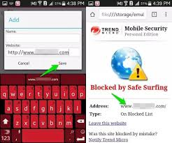 Trend Micro is also a real market bellwether and a trustworthy app for blocking websites on Android