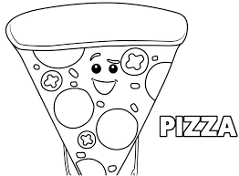 Free Emoji Movie Coloring Pages Pizza Sheets Images The