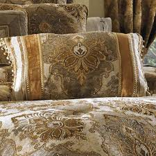 J Queen Brianna Curtains by Bradshaw Damask Comforter Bedding By J Queen New York