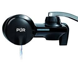 amazon com pur pfm100b black horizontal water filtration faucet