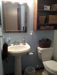 Pedestal Sink Storage Cabinet Home Depot by Small Bathroom With Pedestal Sink Tub And Shower Storage Over