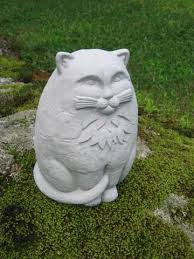 cat garden statue large concrete garden cat statue garden statue all about the