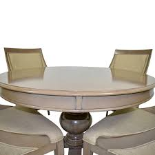 72% OFF - Bob's Discount Furniture Bob's Furniture Gatsby Round Dining Set  With Swoop Chairs / Tables 51 Grey Ding Rooms With Tips To Help You Decorate And Charlie Swoop Arm Chair Image 2 Of 3 Bridal Booth Silver Velvet Accent With Nailhead Trim Pier 1 Cheap Upholstered Find Home Designing Iconic Home Gourdon Plush Gold Tone Solid Metal Legs Details About New Urban Style Chairs Sofa Side W Wood Fniture Lyric Counter Stool Tufted Seat Tapered Amazoncom Lattice Indigo Kitchen Ottoman 3d Product Models Herman Miller Leather Deals
