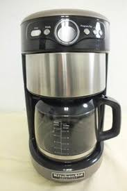 KitchenAid Architect KCM222CS0 Automatic Stainless Steel Coffee Maker GREAT LOOK