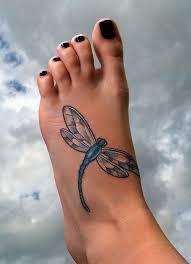 Foot Tattoo Design 39