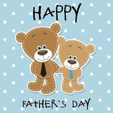 Greeting Card Two Bears A Father And Son