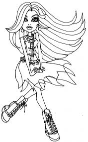 New Monster High Coloring Pages 46 On Download With