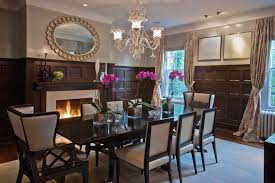 Captains Chairs Dining Room by Magnificent Wingback Dining Chair In Dining Room Contemporary With