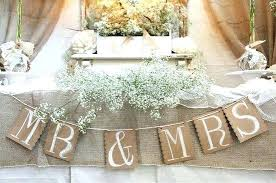 Burlap Themed Wedding Favors Decorations For Sale Used Decor