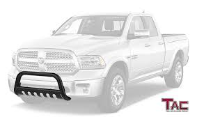 100 Push Bars For Trucks TAC Bull Bar For 20092018 Dodge RAM 1500 Excl Rebel Model Pickup