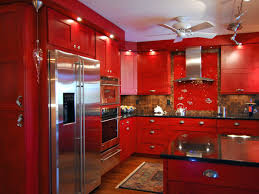 Rustic Red Kitchen Cabinets Gallery With Images Ideas
