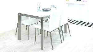 White Dining Table Frosted Glass And Chairs Ikea 6