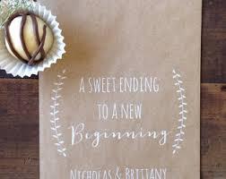 Wedding Favor Bags Cookie Or Candy Buffet Dessert Bar