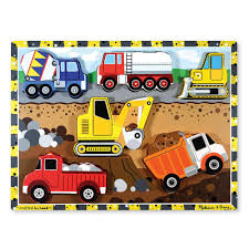 Melissa & Doug Construction Chunky Puzzle-3726 - The Home Depot Melissa Doug Big Truck Building Set Aaa What Animal Rescue Shapesorting Alphabet What 2 Buy 4 Kids And Wooden Safari Carterscom 12759 Mega Racecar Carrier Tractor Fire Indoor Corrugate Cboard Playhouse Food Personalized Miles Kimball Floor Puzzle 24 Piece Beep Cars Trucks Jigsaw Toy Toys For 1224 Month Classic Wood Radar