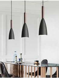 großhandel nordischen stil led pendelleuchte esszimmer suspension leuchte holz le für zuhause beleuchtung moderne hängelen sunshinegz2015