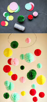 Make A Colorful Chandelier Out Of Paper Diy New Year Party Decorations Birthday