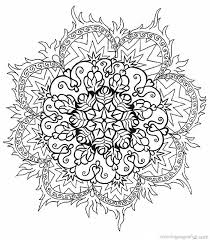 Best Flower Mandala Coloring Pages 49 About Remodel Free Kids With