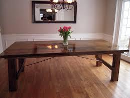 Unique Build Dining Room Table