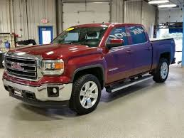 100 Gmc Truck 2014 PreOwned GMC Sierra 1500 SLE 4D Crew Cab In Janesville