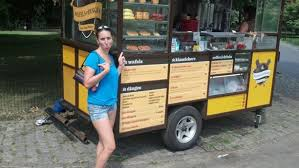 Waffles And Dinges Truck In Central Park, New York City, New York -...