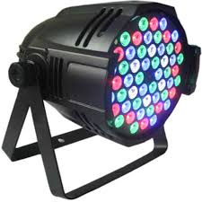 Par Can Led Lights And Chauvet SlimPAR 64 RGB DMX LED Wash Light