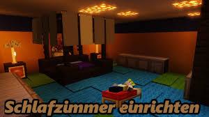 schlafzimmer einrichten minecraft 1 15 2 creative