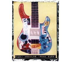 Flea Punk Bass Guitar Iconic Art Print By GuitarArtPrint 1000