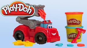 cars pate a modeler toys pâte à modeler camion de pompier play doh véhicules de