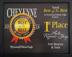 Lew Broyles & Son | Cheyenne, WY - Home