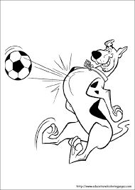 Scooby Doo Coloring Pages Free For Kids