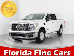 Used 2017 NISSAN TITAN SV 4X4 Truck For Sale In WEST PALM, FL ... Fairbanks Used Nissan Titan Vehicles For Sale 2014 4x4 Colwood Cart Mart Cars Trucks 2017 Truck Crew Cab For In Leesport Pa Lebanon Used Nissan Titan Sl 4wd Crew Cab Truck For Sale 800 655 3764 2010 Xe At Woodbridge Public Auto Auction Va Iid 2006 Se Stock 14811 Sale Near Duluth Ga New 2018 San Antonio Car Dealers Chicago 2016 Xd Vernon Platinum Reserve 4x4 Wnavigation