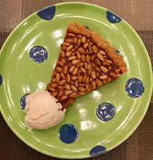 dolce cuisine honey pine nut tart from de palma s dolce italiano